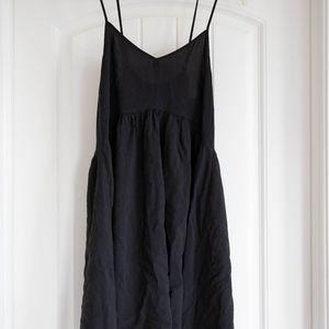Express Black Mini Sun Dress - Size Small